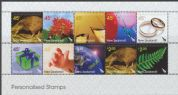 NZ SG2801a Personalised Stamps block of 10
